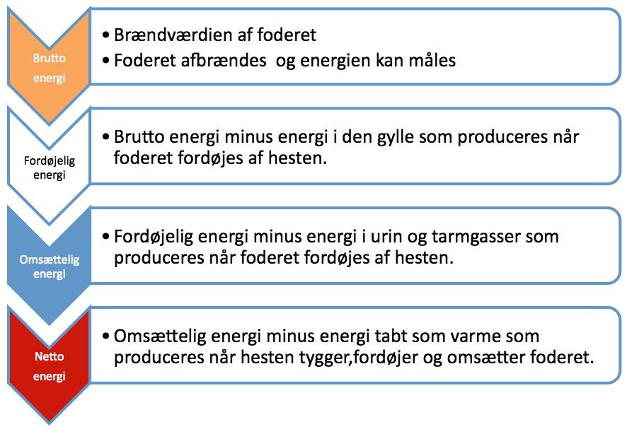 hvad måles energi i