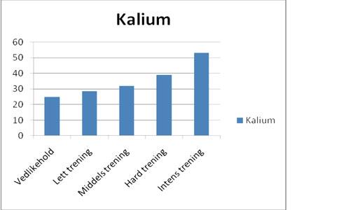 hur mycket kalium per dag